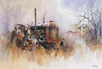 tractor paintings