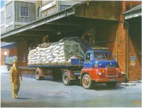 old lorry art prints