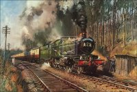 steam railway art prints